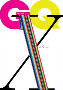10 Years Anniversary of GQ Magazine in Mexico, International Poster Biennial in Mexico, 2016